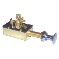 4 Screw Terminal Off-On Push Pull Switch