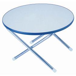24IN RND WHT MELAMINE DECK TABLE