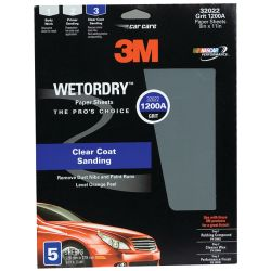 Imperial Wet or Dry Sandpaper Sheets - 401Q, 5-Pack