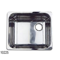 SS SINGLE SINK 15IN X 13IN X 8IN FLG C