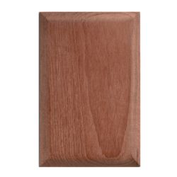 BLANK OUTLET COVER TEAK (2 PER PKG)