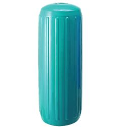 8X20IN TEAL RIBBED FENDER W/HOLE