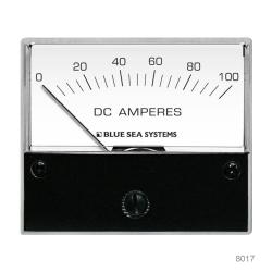 0-100A DC AMMETER ANALOG EXTERNAL SHUNT
