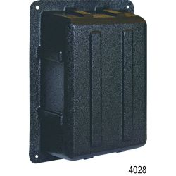 Panel Back Insulating Covers, ABYC Cover for 1 Column x 8 Positions + Meter Breaker Panel