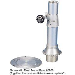 Flush-Mount Pedestal Table Base System