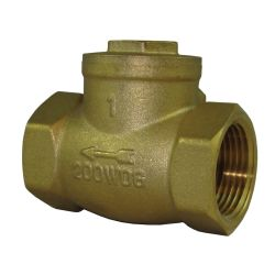 4IN NPT BRS SWING CHECK VALVE