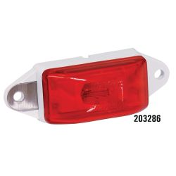 EAR MOUNT RED PC CLEARANCE LIGHT