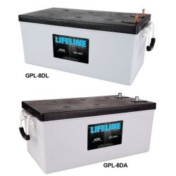 8D LifeLine AGM Batteries