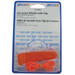 POLYPRO LIFE JACKET WHISTLE & LNYD.