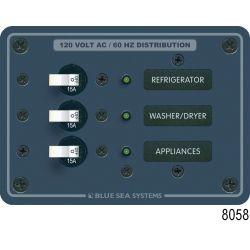 AC Circuit Breaker Sub-Panels, 10 x 15A (3 Empty)