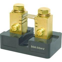 DC Shunt, Analog Meter Shunt 50A⁄50mV Small Base
