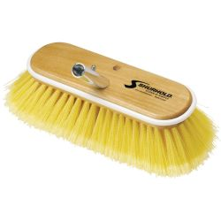 10.5IN SOFT YEL POLYSTYRN DECK BRUSH