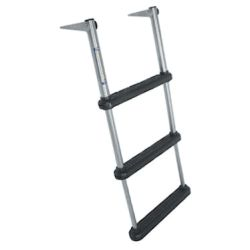 Over Platform Telescoping Drop Ladders