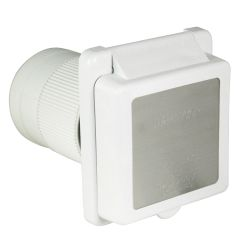 50A 125/250V(M) WHT INLET