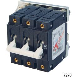 DC C-Series Triple Pole Circuit Breakers, 250A DC