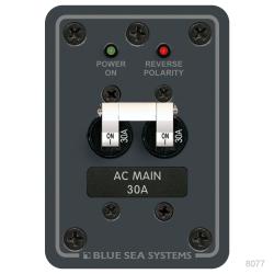 120 Volt AC Main Circuit Breaker Panel, 120V A SERIES PANEL 1 x 50A