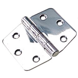 S.S. LOCKER HINGE 3IN X 6IN