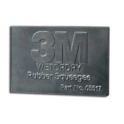 2.75X4.25IN WET/DRY RUBBER SQUEEGE
