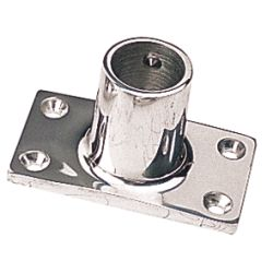 STAINLESS 90 RECTANGULAR BASE 7/8IN
