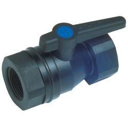 Marelon® Full-Flow Ball Valves