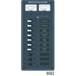 12V A SERIES PANEL 7 POS VOLT/AMMETER