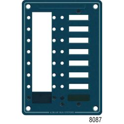 C-Series Circuit Breaker Mounting Panel, 8 Position Panel