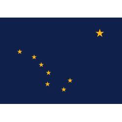 fkag of Annin Alaska Flag