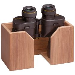 Teak Binocular Rack