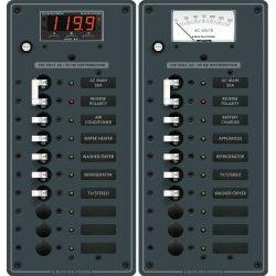 AC Main + 8 Position Circuit Breaker Panel