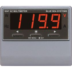 AC Digital Multimeter with Alarm