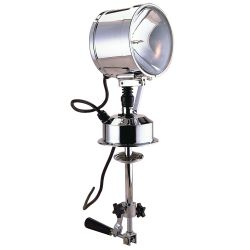12V 7IN CHR BRS SEARCHLIGHT