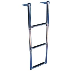 4-STEP TELESCOPING DROP LADDER