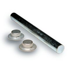 1/2X5-1/4IN ROLLER SHAFT W/PAL NUTS