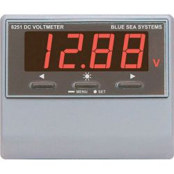 DC Digital Voltmeter with Alarm