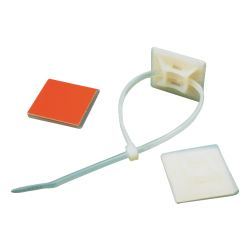 Cable Tie Mounting Base with Adhesive Back
