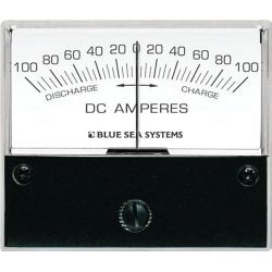 Zero Center DC Ammeters