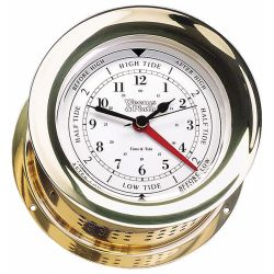 TIME & TIDE CLOCK BRASS ATLANTIS