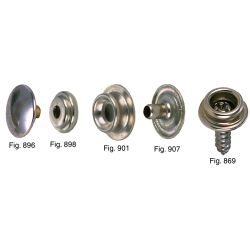 """Durable Type"" Canvas Snap Fasteners"