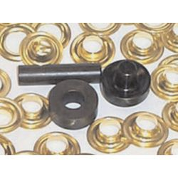 E-Z GROMMET SET, #2 BRASS (18 SETS)