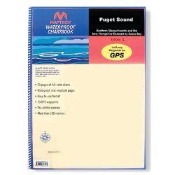 WATERPROOF CHART BOOK PUGET SOUND