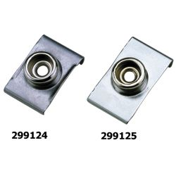 Windshield Clips with Integral Canvas Snap Studs