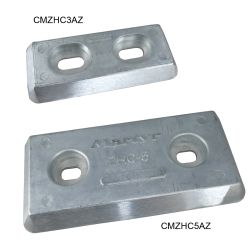 Streamlined Bolt-On Hull Plate Anodes - Zinc