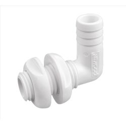 white of Attwood 90 Degree Thru-Hull Connector