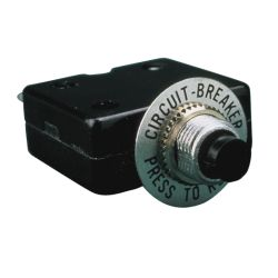 Thermal AC⁄DC Push-Button Re-Set Circuit Breaker