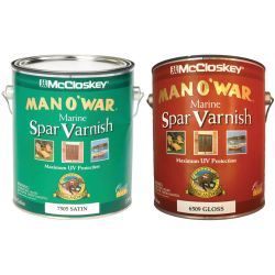 Man O'War Spar Marine Varnish - Gloss or Satin
