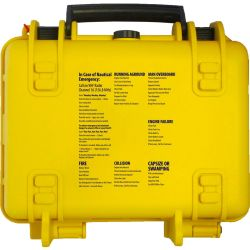 back of Adventure Medical Kits Marine 600 Medical Kit with Waterproof Case