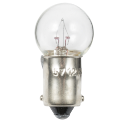 Ancor No. 57 Single Contact Miniature Bayonet Base Bulb - 2 CP, 3.4W, 14V