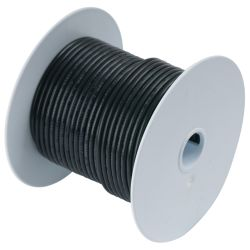 18 BLK TINNED COPPER WIRE (35FT)