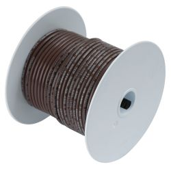 18 BRN TINNED COPPER WIRE (100FT)
