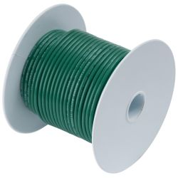 12 GRN TINNED COPPER WIRE (400FT)